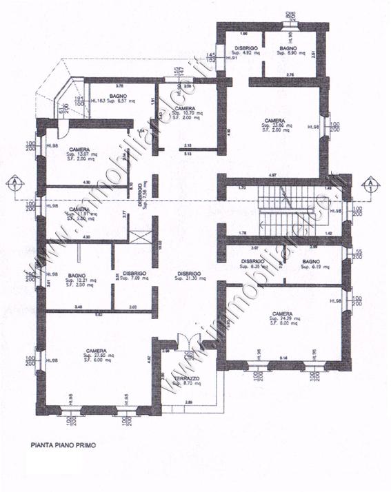 Villa liberty in provincia di pordenone rif imv b11 15 for 2 piani letto 2 bagni